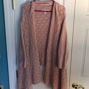NWOT Emmaline Mauve-Pink Chenille Flow sweater